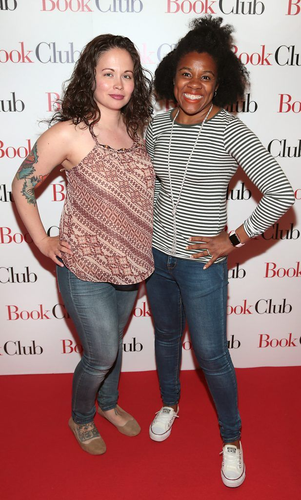 Jackie Zamora and Dee Dee Wheaton pictured at the special preview screening of Book Club in Movies at Dundrum, Dublin. Photo by Brian McEvoy