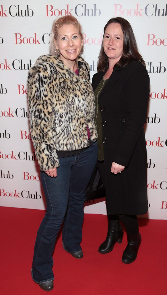 Vanessa Leonard and Susan Hayes pictured at the special preview screening of Book Club in Movies at Dundrum, Dublin. Photo by Brian McEvoy