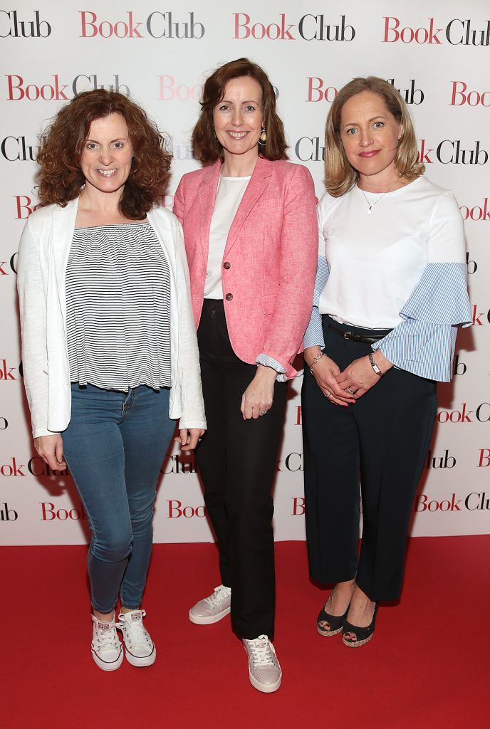 Eunice McMenamin, Laura Greenan and Maeve Delaney pictured at the special preview screening of Book Club in Movies at Dundrum, Dublin. Photo by Brian McEvoy
