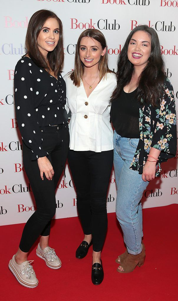 Rebecca Branagan, Corinne Vaughan and Melanie Mullen pictured at the special preview screening of Book Club in Movies at Dundrum, Dublin. Photo by Brian McEvoy