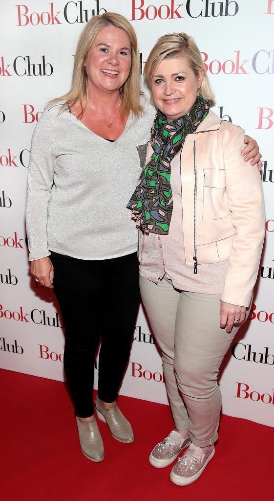 Mary Goulding and Tara Gilleece pictured at the special preview screening of Book Club in Movies at Dundrum, Dublin. Photo by Brian McEvoy
