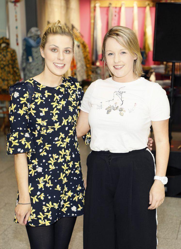 Gillian McGinn and Rachel McDarby at the official opening of AVOCA in Terminal 2 at Dublin Airport. Photo Kieran Harnett