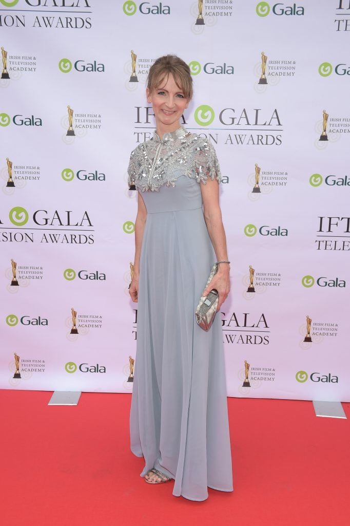 Norma Sheahan arriving on the red carpet for the IFTA Gala Television Awards 2018 at the RDS. Photo by Michael Chester