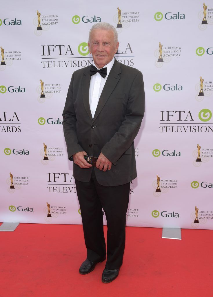 Johnny Giles arriving on the red carpet for the IFTA Gala Television Awards 2018 at the RDS. Photo by Michael Chester