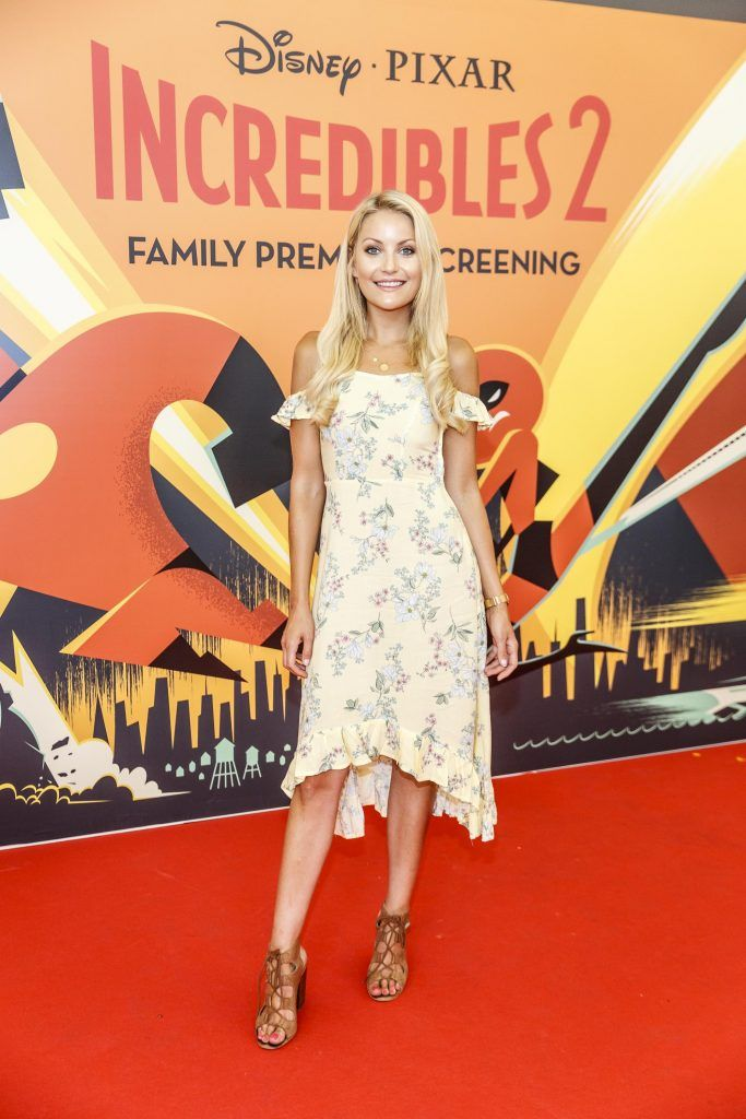 Kerri Nicole Blanc pictured at the special family preview screening of Incredibles 2 in ODEON Point Village. Picture Andres Poveda