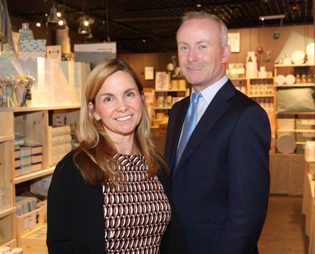 Heather Lawlor and Niall Lawlor at the opening of Søstrene Grene on South Great Georges Street, Dublin. Picture: Brian McEvoy Photograpy