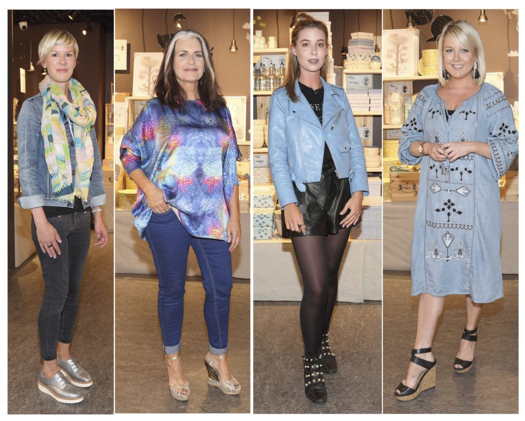 Tiina Svahn,Cathy O Connor,Martha Kelly and Rebecca Brady at the opening of Søstrene Grene on South Great Georges Street, Dublin. Picture: Brian McEvoy Photograpy