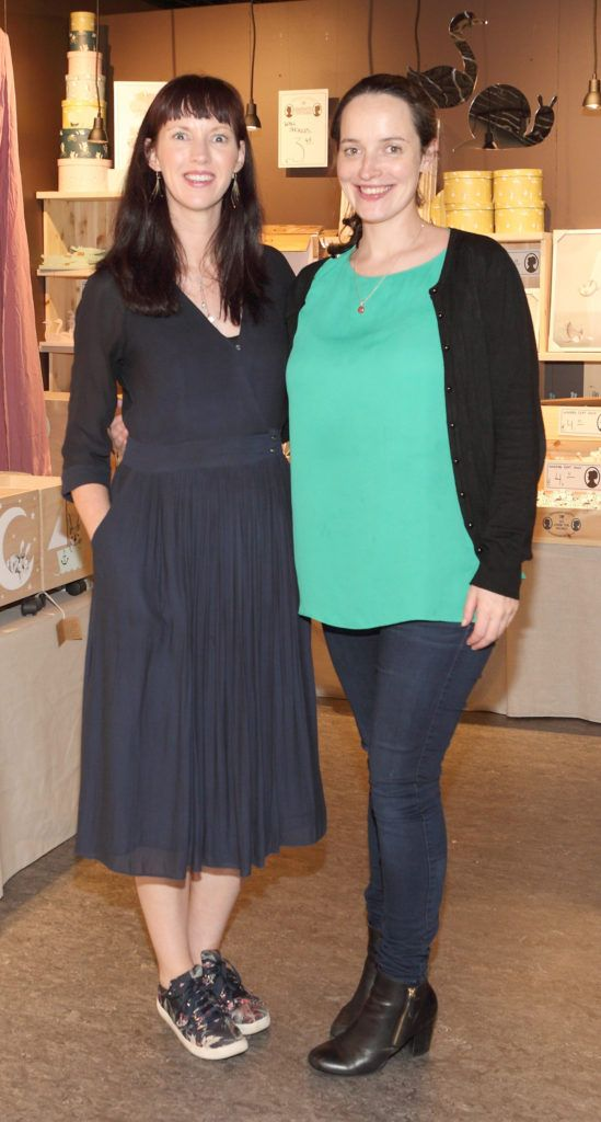Aoife Finneran and Edel Kennedy at the opening of Søstrene Grene on South Great Georges Street, Dublin. Picture: Brian McEvoy Photograpy