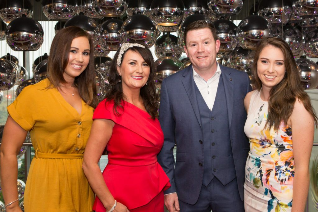 Therese Leahy, Mary and John Butler and Sinead Gaffney at the Ladies Day After Party in the g Hotel & Spa. Photo: Martina Regan