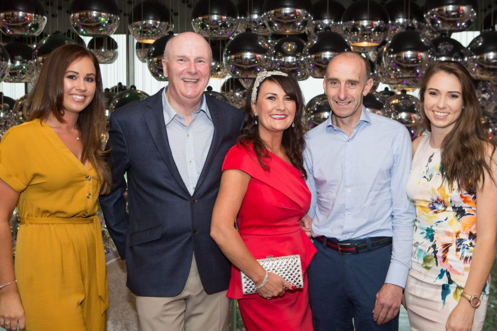 Therese Leahy, Denis Egan, Mary Butler, Pat Malone and Sinead Gaffney at the Ladies Day After Party in the g Hotel & Spa. Photo: Martina Regan