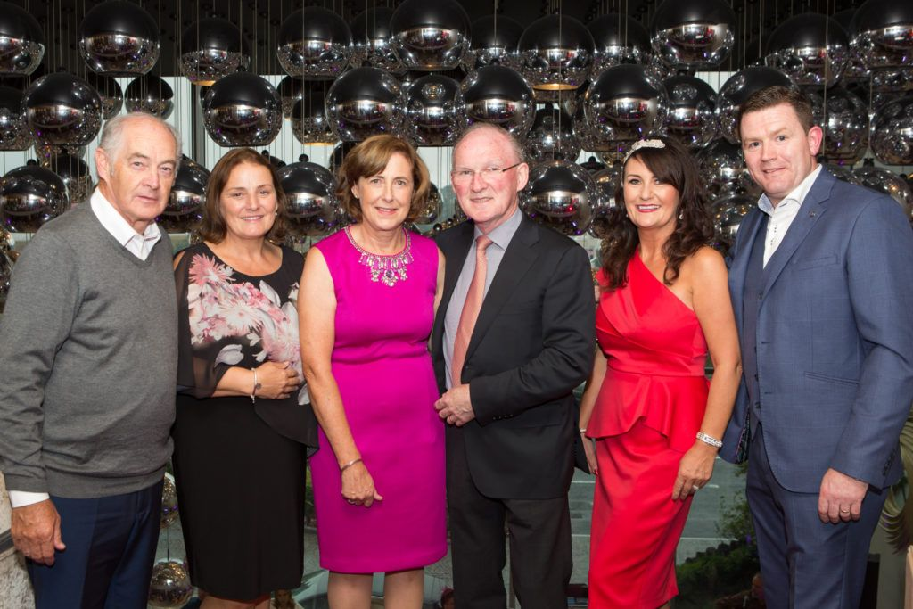Dessie and Mary Scahill, Anne and Dr. Adrian McGoldrick and Mary and John Butler at the Ladies Day After Party in the g Hotel & Spa. Photo: Martina Regan