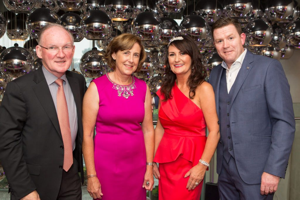 Dr. Adrian McGoldrick, Anne McGoldrick and Mary and John Butler at the Ladies Day After Party in the g Hotel & Spa. Photo: Martina Regan