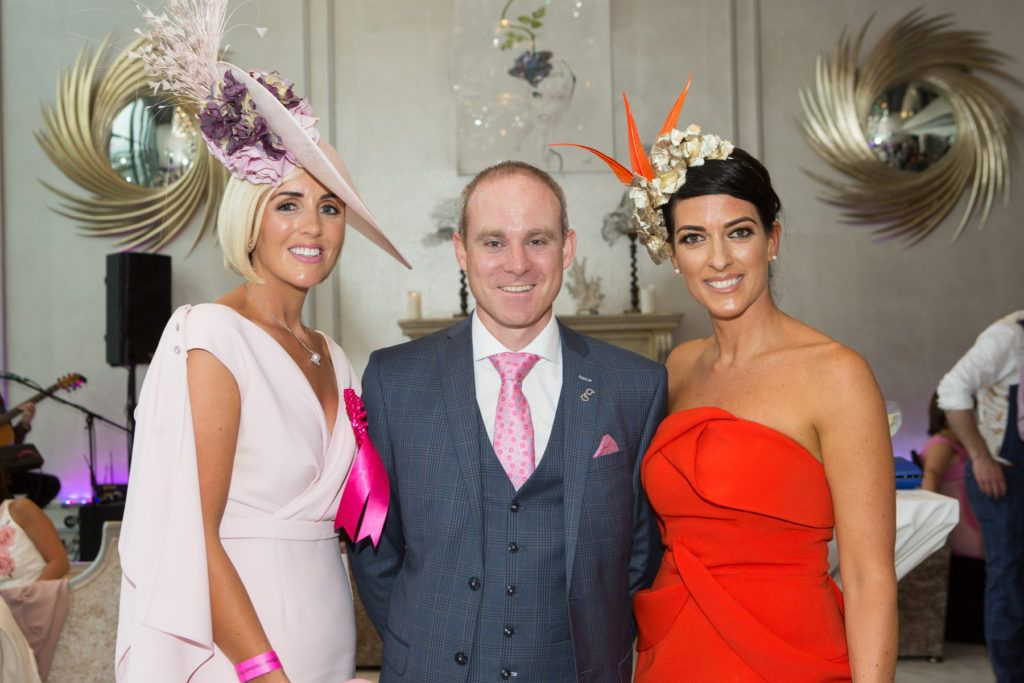 Charlene Byers, Andrew Drysdale, GM, g Hotel  and Lisa McGowan at the Ladies Day After Party in the g Hotel & Spa. Photo: Martina Regan
