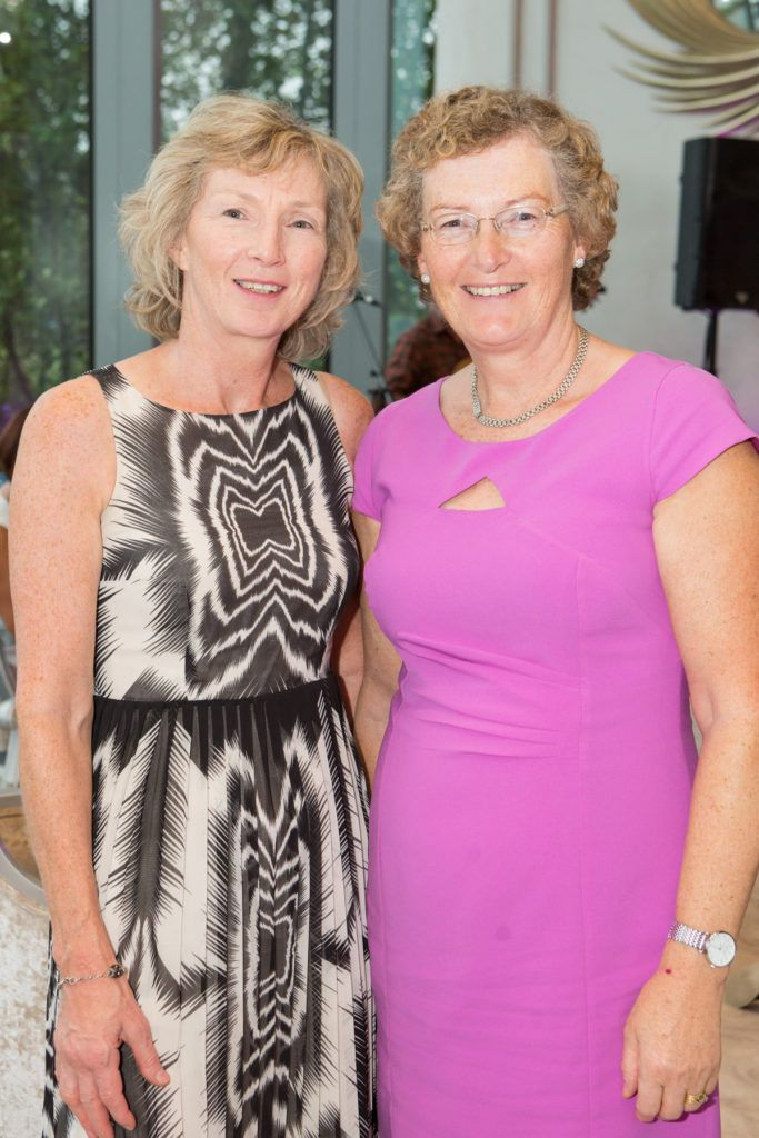 Doreen Kenny and Sheila Finnerty at the Ladies Day After Party in the g Hotel & Spa. Photo: Martina Regan