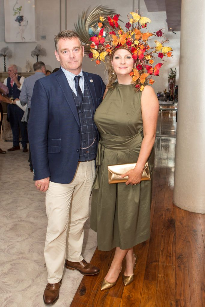 Ted and Angela Kennedy at the Ladies Day After Party in the g Hotel & Spa. Photo: Martina Regan