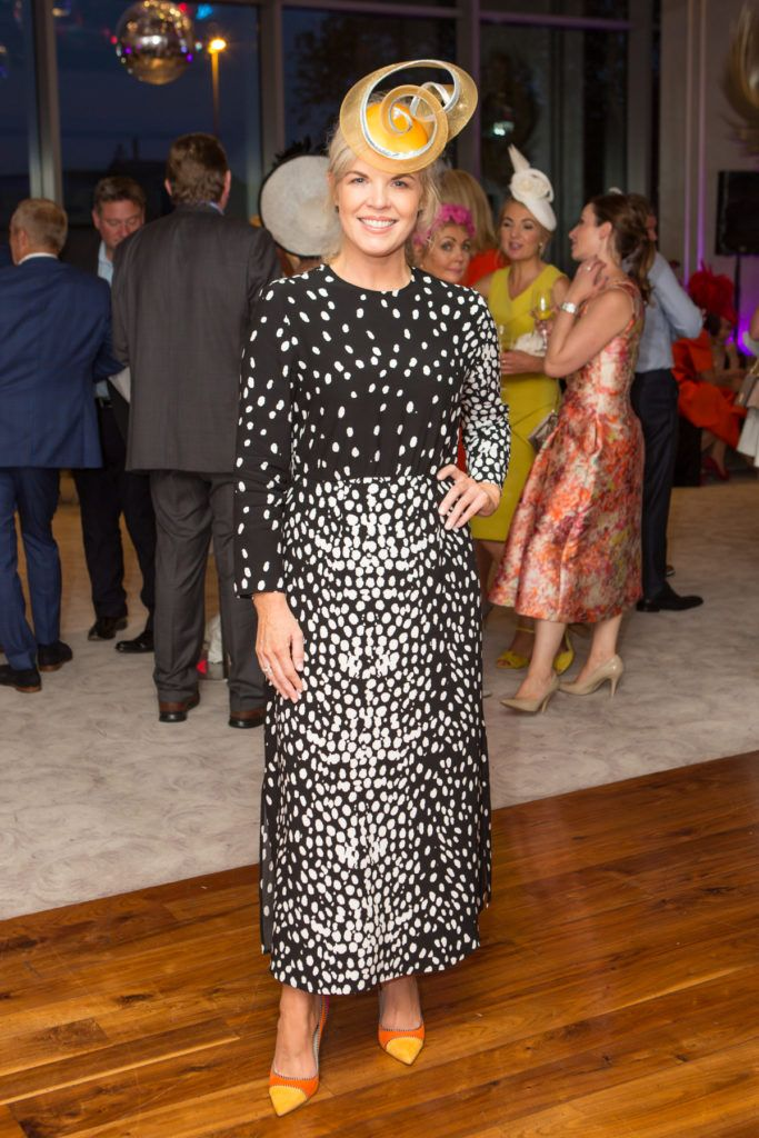 Stylist Marietta Doran at the Ladies Day After Party in the g Hotel & Spa. Photo: Martina Regann