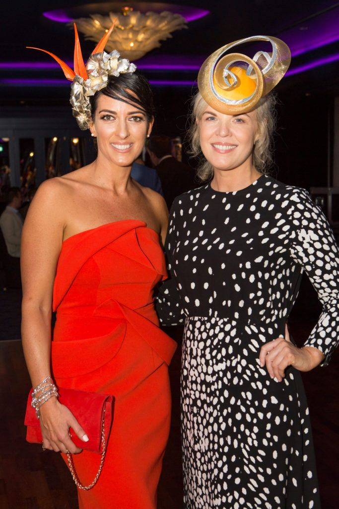 Lisa McGowan and Marietta Doran at the Ladies Day After Party in the g Hotel & Spa. Photo: Martina Regan
