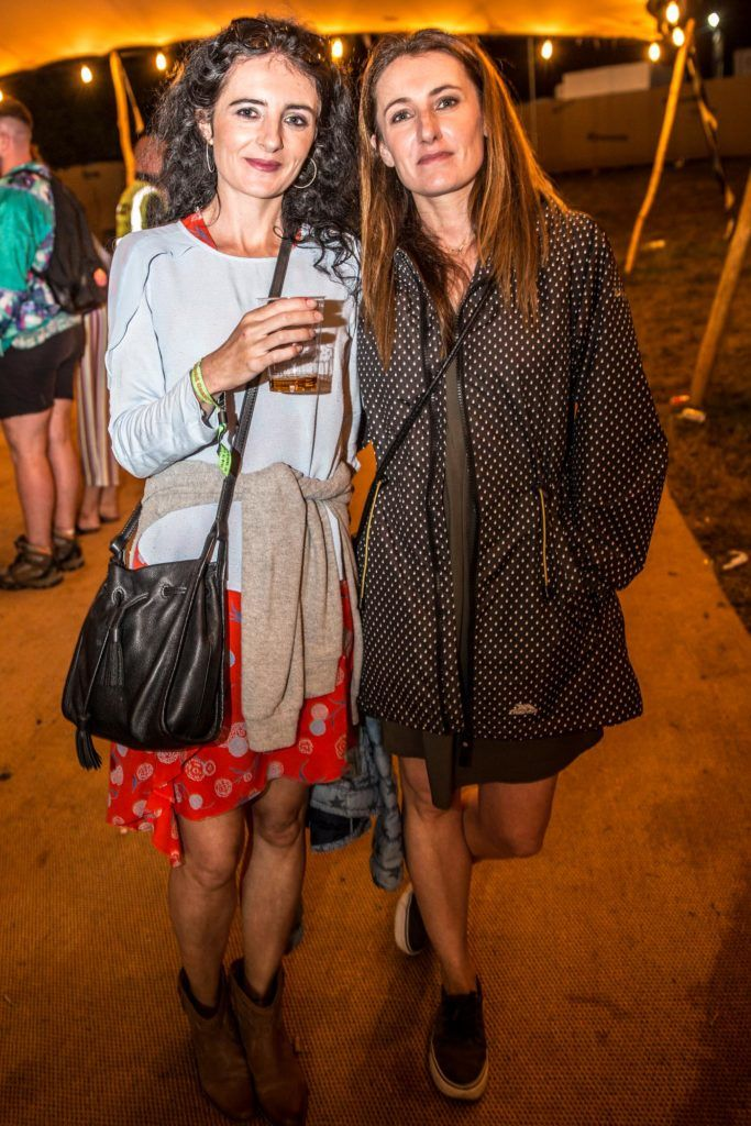 Rebecca & Yvonne Ronan pictured at The Jameson Bar at All together now Festival in Waterford over the Bank holiday weekend. Picture: Allen Kiely