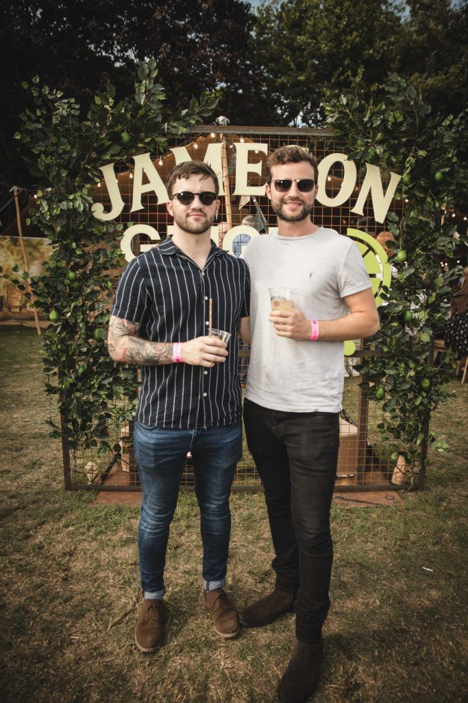 Pictured here is Sam Allen and Brett Cella at The Big Grill in partnership with Jameson Irish Whiskey. Picture: Derek Kennedy
