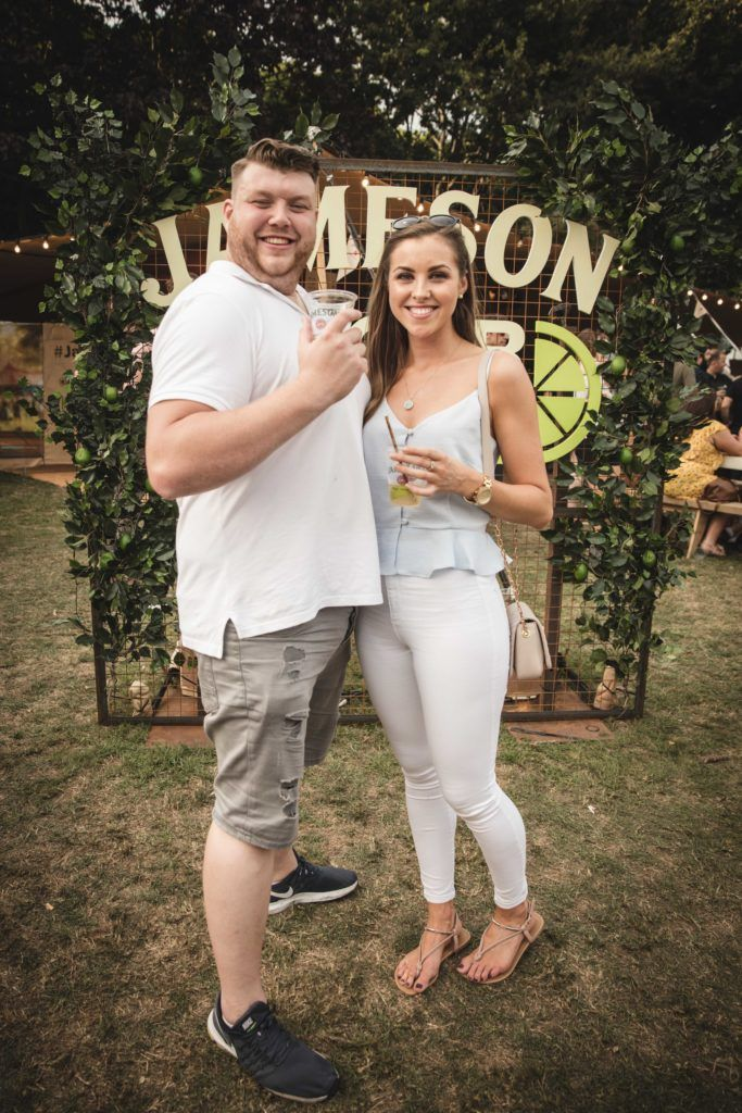 Pictured here is William Flynn and Aisling Fegan at The Big Grill in partnership with Jameson Irish Whiskey. Picture: Derek Kennedy