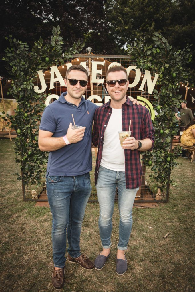 Pictured here is David Popplewell and Ronan Linehan at The Big Grill in partnership with Jameson Irish Whiskey. Picture: Derek Kennedy