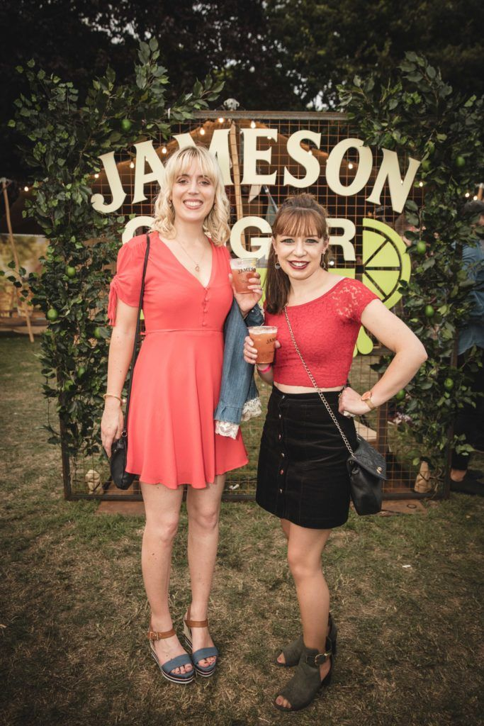 Pictured here is Ciara Aherne and Laura Kaar at The Big Grill in partnership with Jameson Irish Whiskey. Picture: Derek Kennedy