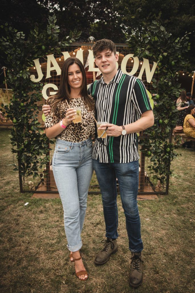 Pictured here is Ashley Kenny and Jamie Winters at The Big Grill in partnership with Jameson Irish Whiskey. Picture: Derek Kennedy