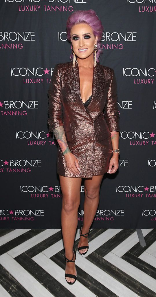 Diane Everett at the Iconic Bronze Extra Dark Tan launch at the Ivy Garden Hotel, Dublin. Picture: Brian McEvoy