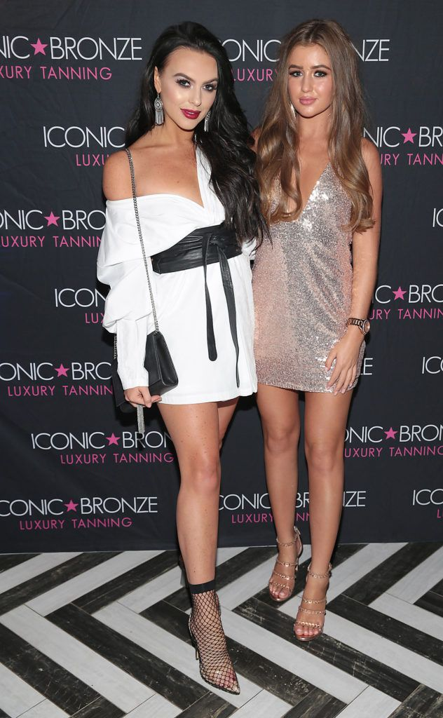 Iconic Bronze Extra Dark Tan Launch with Love Island's Georgia Steel & Rosie Williams