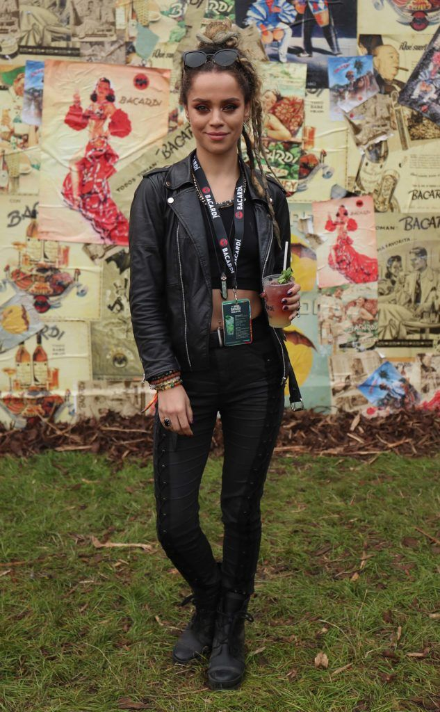 DJ Ci Ci pictured in the renowned Casa Bacardi on Day Two of Electric Picnic 2018. Pic: Robbie Reynolds
