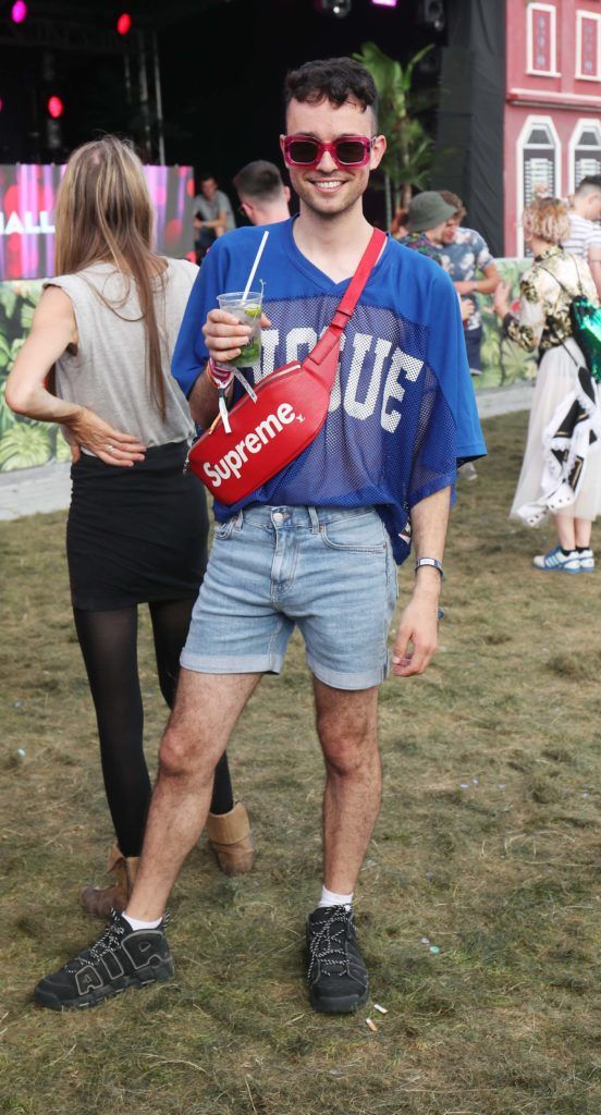 James Kavanagh pictured in the renowned Casa Bacardi on Day Two of Electric Picnic 2018. Pic: Robbie Reynolds
