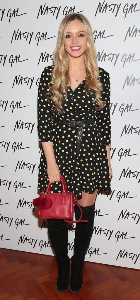 Diana Bunici at The NastyGal.com Autumn Winter Showcase at Drury Buildings Dublin, Ireland Picture: Brian McEvoy