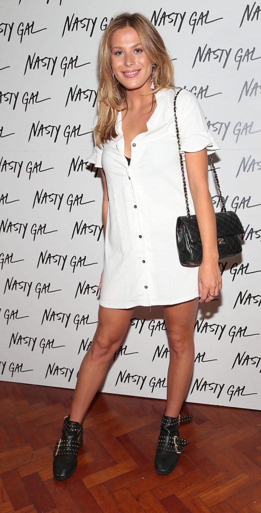 Frankie Gaff at The NastyGal.com Autumn Winter Showcase at Drury Buildings Dublin, Ireland Picture: Brian McEvoy