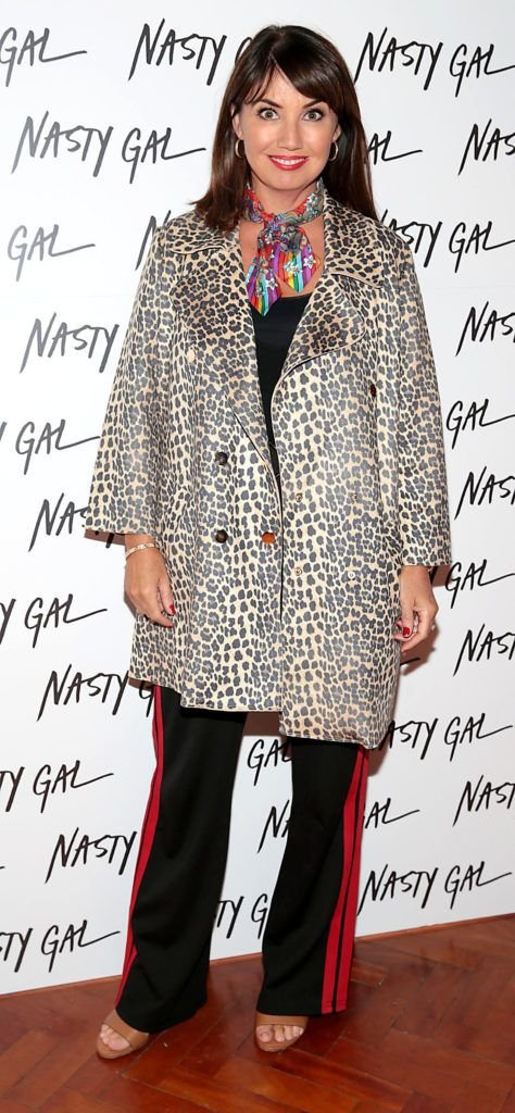Carol Kane at The NastyGal.com Autumn Winter Showcase at Drury Buildings Dublin Picture: Brian McEvoy
