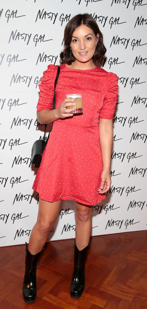 Anouska Proetto at The NastyGal.com Autumn Winter Showcase at Drury Buildings Dublin Picture: Brian McEvoy