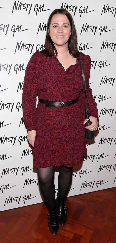 Corina Gaffey at The NastyGal.com Autumn Winter Showcase at Drury Buildings Dublin Picture: Brian McEvoy