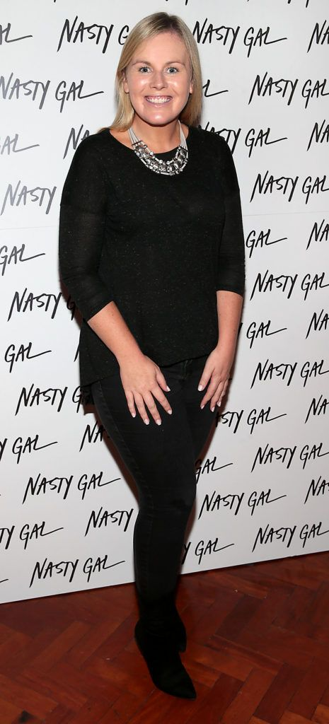 Caitriona O Connor at The NastyGal.com Autumn Winter Showcase at Drury Buildings Dublin Picture: Brian McEvoy