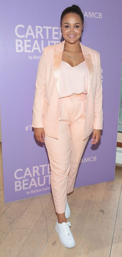 Claudia Gocul pictured at the launch of Carter Beauty Cosmetics at the Morrison Hotel Dublin. Picture: Brian McEvoy