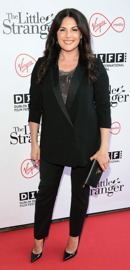Lisa Cannon at the European premiere of The Little Stranger, presented in association with Pathe and the Virgin Media Dublin International Film Festival at the Lighthouse Cinema, Dublin. Photo: Brian McEvoy