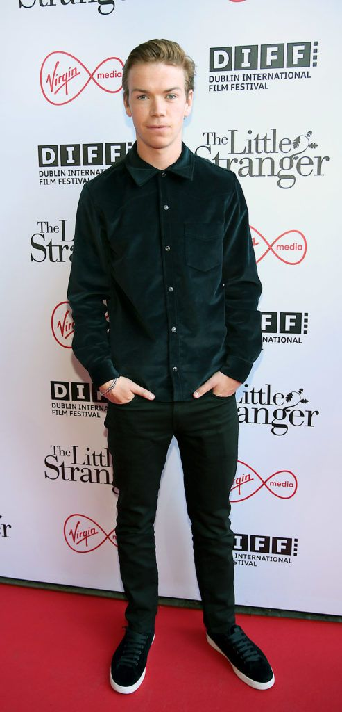 Actor Will Poulter at the European premiere of The Little Stranger, presented in association with Pathe and the Virgin Media Dublin International Film Festival at the Lighthouse Cinema, Dublin. Photo: Brian McEvoy