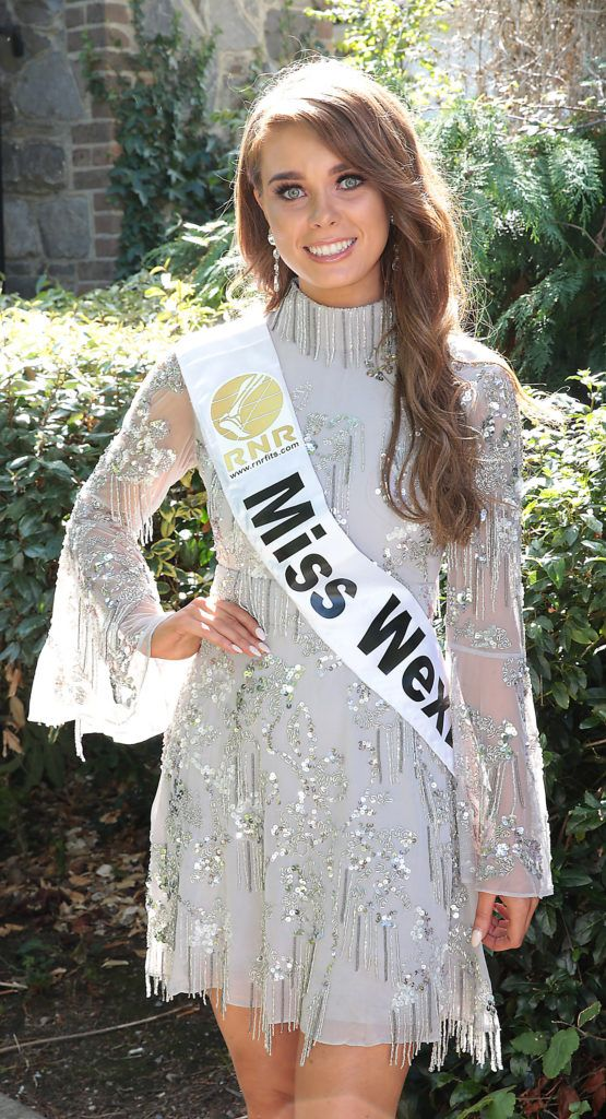 Miss Wexford Lucy Butler pictured at a special preview of the Miss Ireland 2018 finalists at the Bonnington Hotel, Dublin. Photo: Brian McEvoy