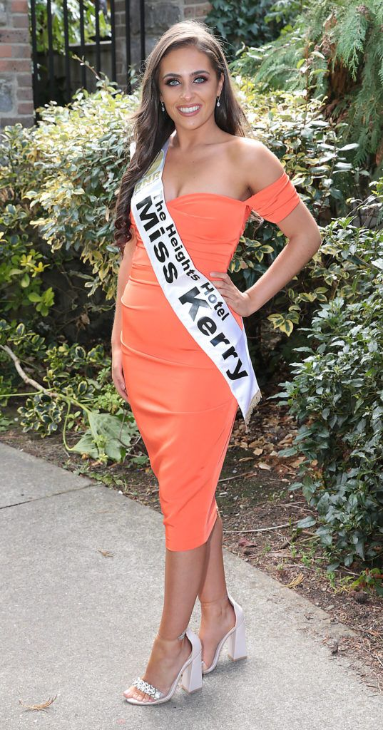 Miss Kerry Brógan O'Sullivan pictured at a special preview of the Miss Ireland 2018 finalists at the Bonnington Hotel, Dublin. Photo: Brian McEvoy
