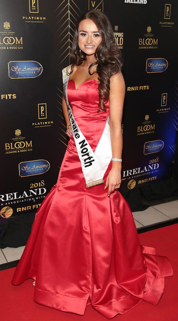 KikI Nugent at the grand final of Miss Ireland 2018 in association with RNR Fits at the Helix Theatre, Dublin. Photo by Brian McEvoy
