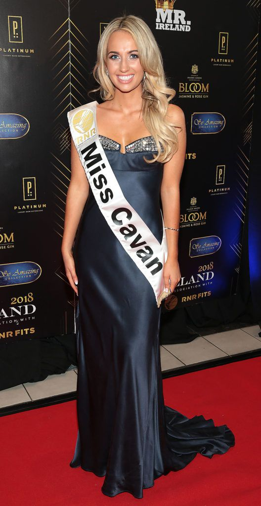Dearbhla Dolan at the grand final of Miss Ireland 2018 in association with RNR Fits at the Helix Theatre, Dublin. Photo by Brian McEvoy