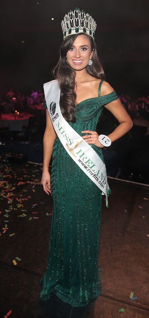 Miss So Amazing Fashion - Aoife O Sullivan from Ballinadee, Kinsale, Cork who was crowned Miss Ireland 2018 at Dublin's Helix Theatre. Photo by Brian McEvoy