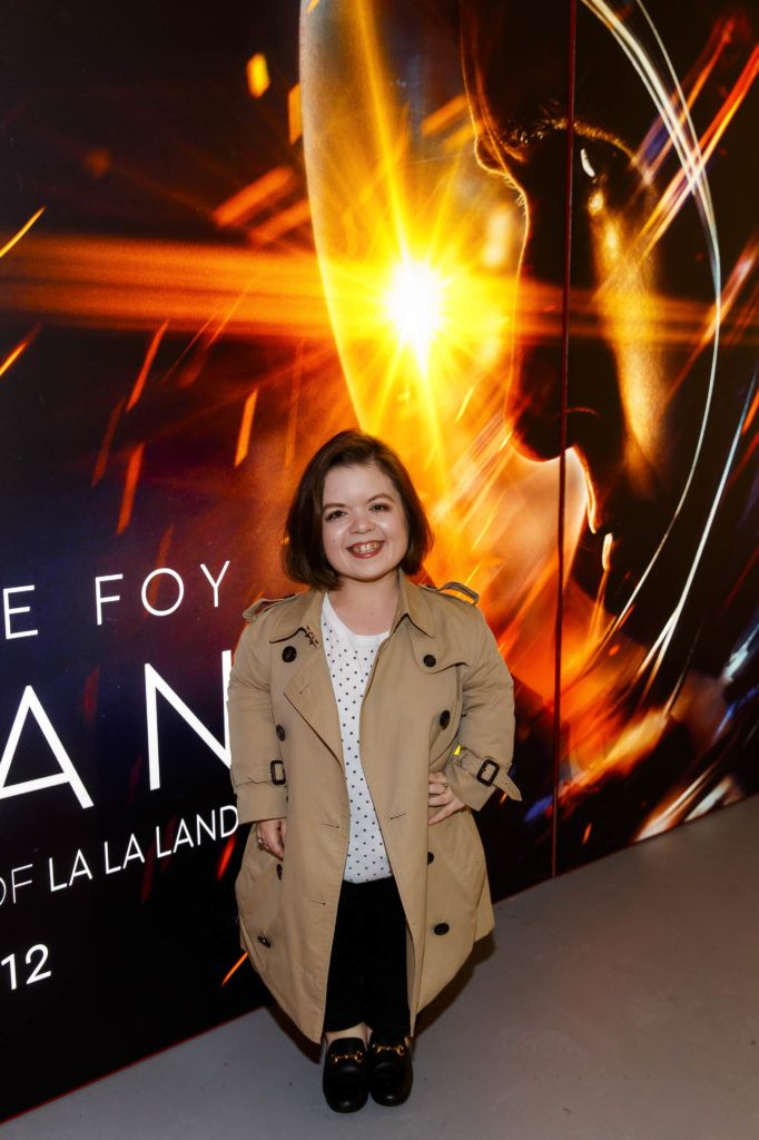 Sinead Burke pictured at an exclusive first look at up-coming feature film First Man at Dublin's Light House Cinema. Picture Andres Poveda