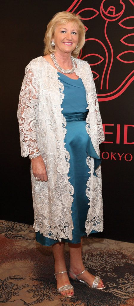 Aileen O'Meara at the Shiseido International Charity Lunch and Fashion Show in aid of the Rape Crisis Centre hosted by catwalk queen Miss Candy at the Westin Hotel, Dublin. Pic Brian McEvoy Photography