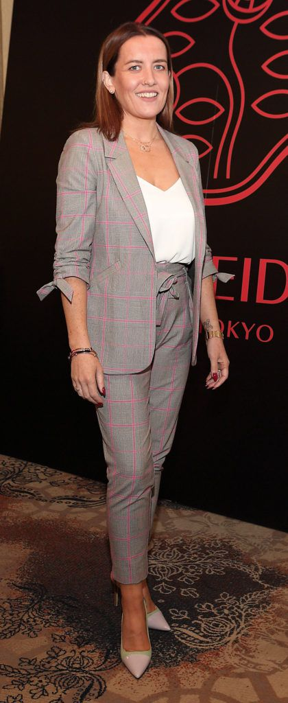 Aileen Ennis at the Shiseido International Charity Lunch and Fashion Show in aid of the Rape Crisis Centre hosted by catwalk queen Miss Candy at the Westin Hotel, Dublin. Pic Brian McEvoy Photography