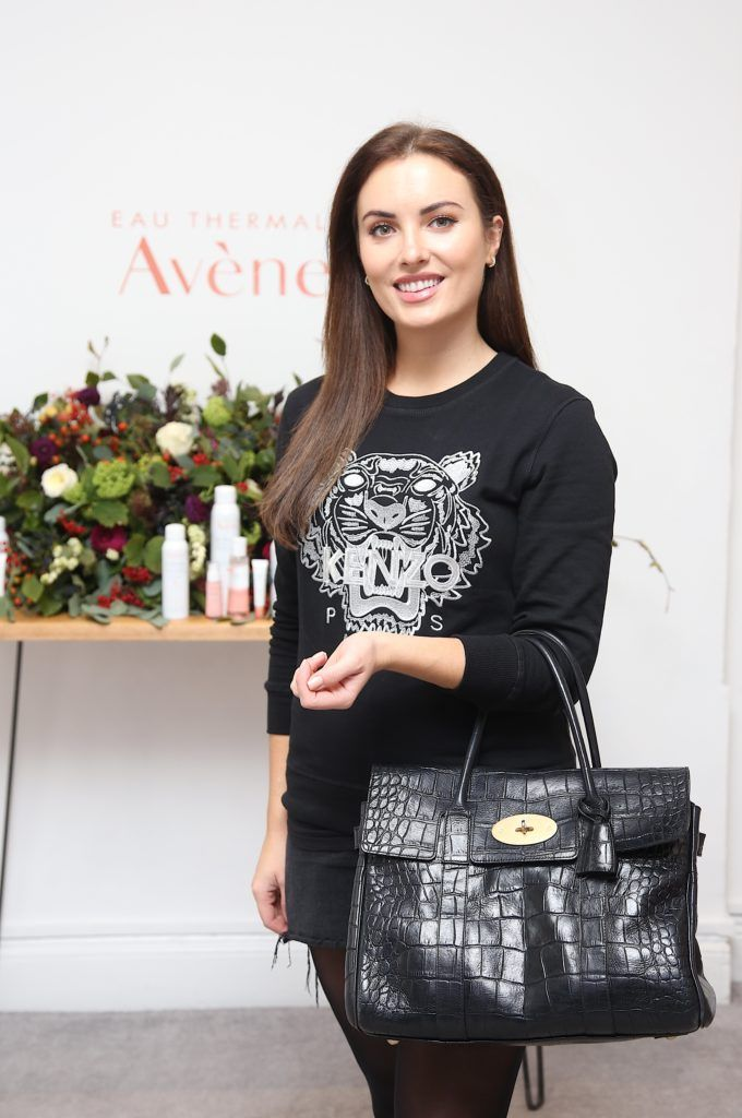 Holly Carpenter pictured at the Avene Radiance Skincare launch at Studio 10, Wicklow St (20/09/18). Photo: Karen Morgan