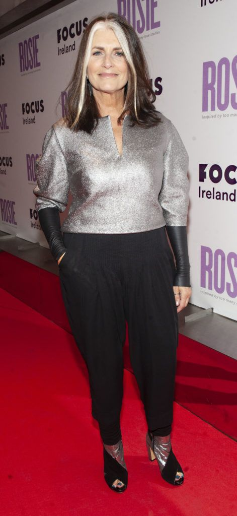 Cathy O Connor pictured at the European premiere of 'Rosie' at the Light House Cinema, Dublin. Photo: Patrick O'Leary